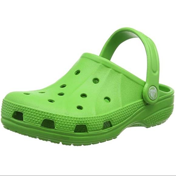 35f76e9f56b280 Crocs Ralen Clog Unisex Kids Lime- Size J1